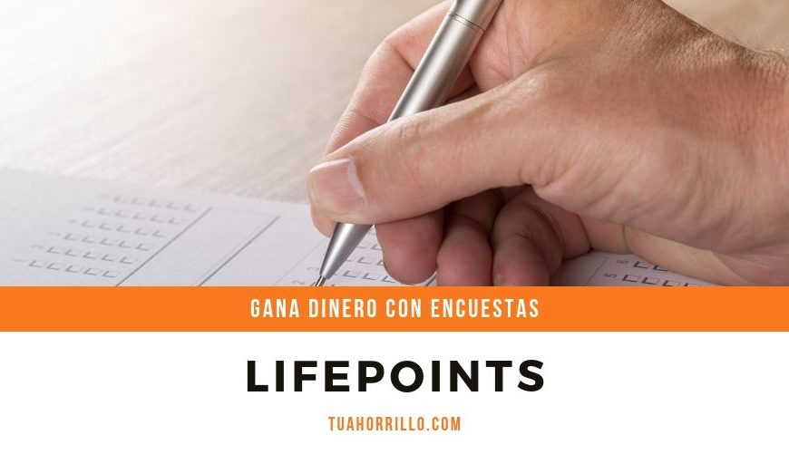 🥇LifePoints da tu opinion por dinero real GRATIS 2019