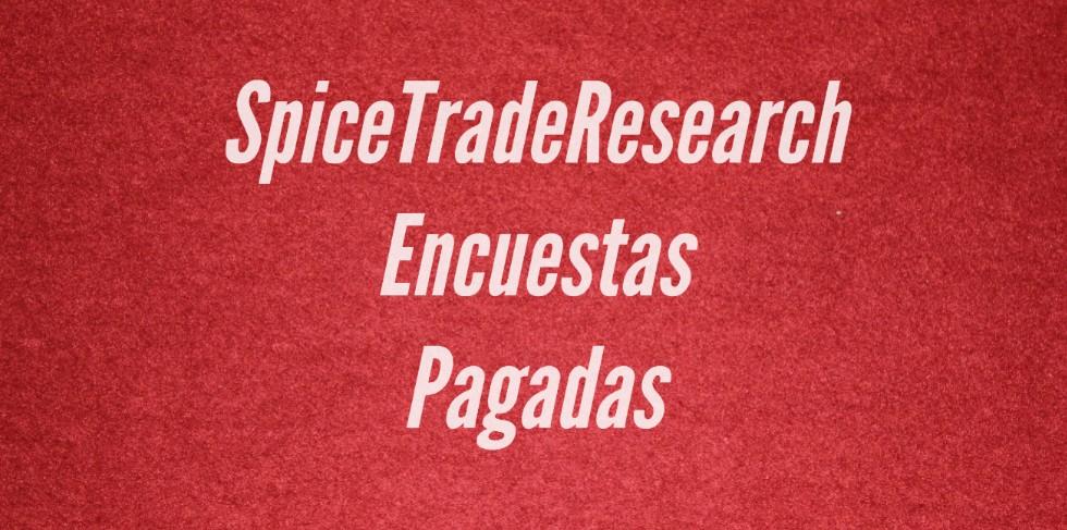 Pago de SpiceTradeResearh 9.80€ a la saca