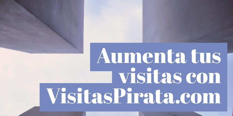 VisitasPirata trafico GRATIS para tu web o blog GRATIS 2018