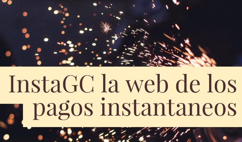 Nuevo pago de InstaGC