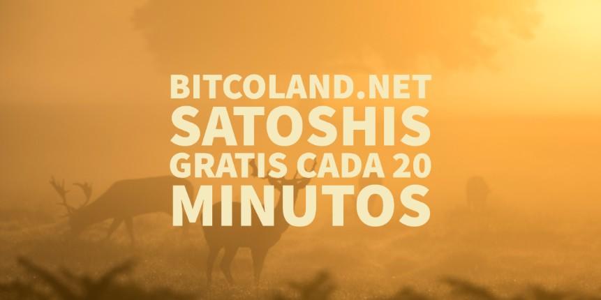 Bitcoland.net satoshis gratis cada 20 minutos