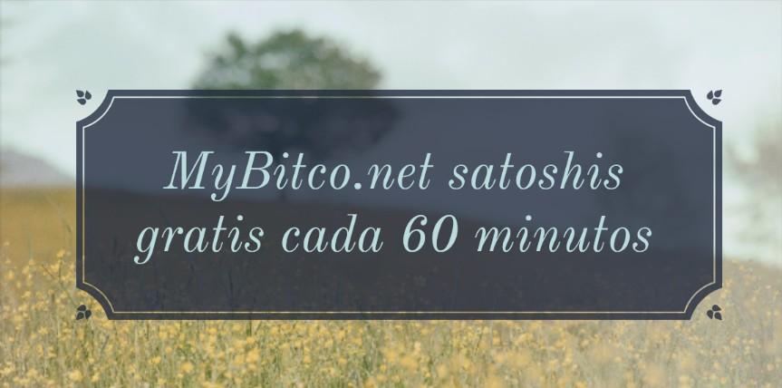 MyBitco.net satoshis gratis cada 60 minutos