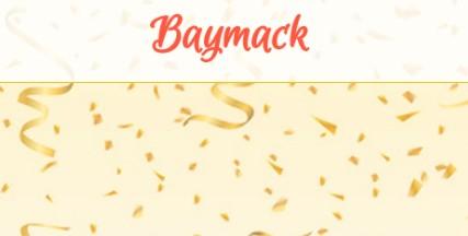 Baymack: Consigue premios viendo vídeos