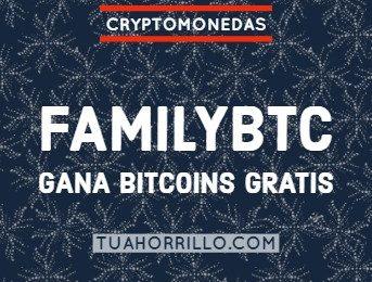 FamilyBTC gana bitcoins gratis y con faucet propia [2018]