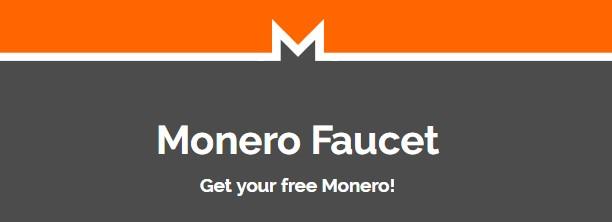 Gana Monero gratis con Monero Faucet