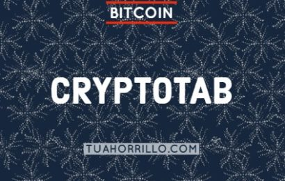 CryptoTab Mina Bitcoin con extension al navegador Chrome