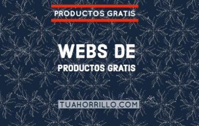 Productos gratis Lista de webs CONSIGUE TU REGALO🥇