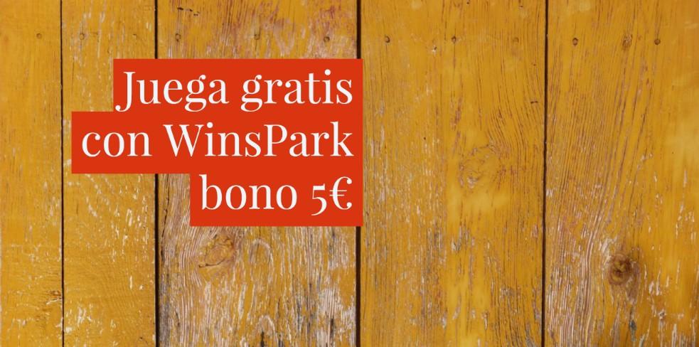 Apuesta gratis con WinsPark 5€ juega ya
