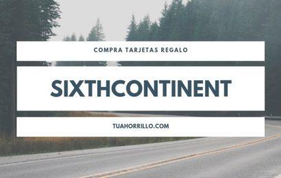 SixthContinent Compra tarjetas regalo a precio muy rebajado🤑